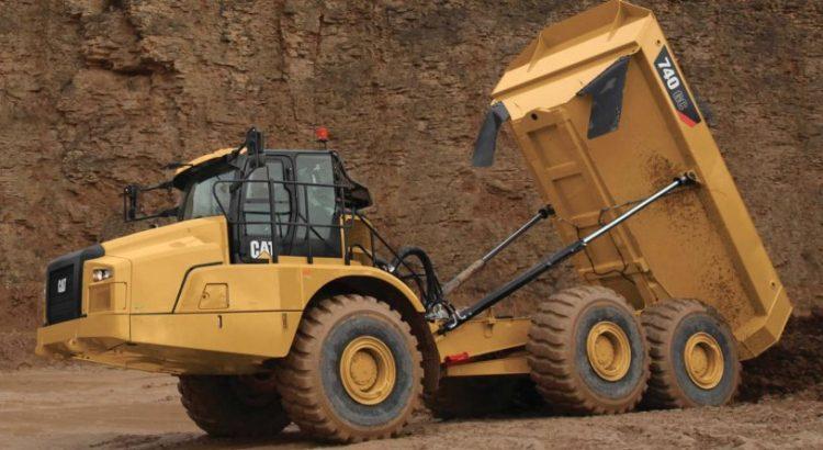 cat rock truck