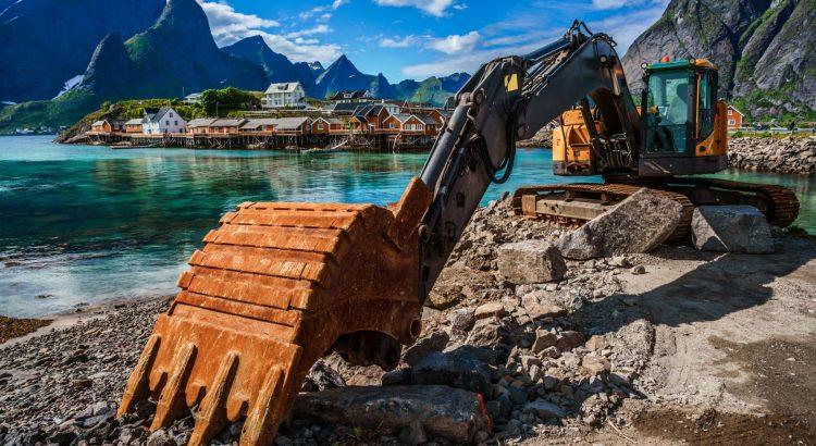 excavator spare parts