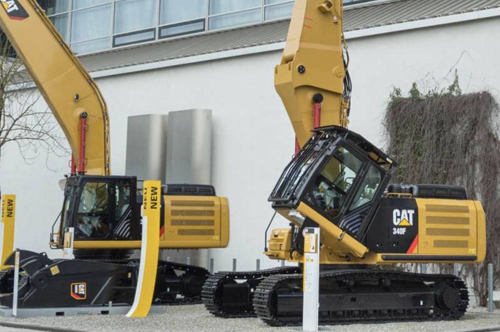 THE new Cat 340F UHD (ultra high demolition) hydraulic excavator